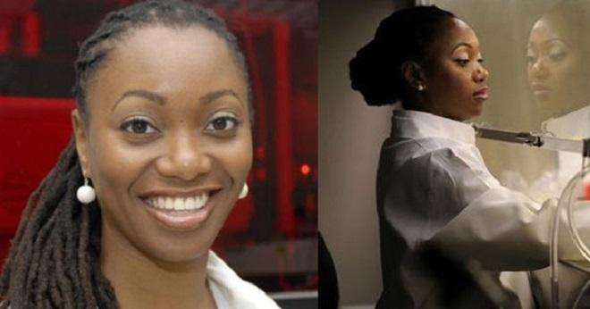 Photo de L'afro-américaine Hadiyah Green, première à guérir le cancer, à l'aide de lasers