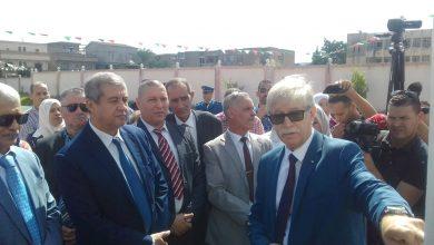 Photo de Le ministre de la Communication à Skikda:  Visite d'une école primaire à Azzaba