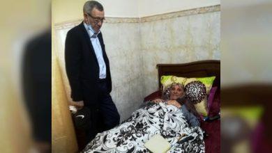 Photo de Solidarité institutionnelle: Belhimer rend visite à Dahmane Badroun