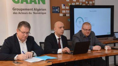 Photo de Gaan/Cciaf: Collaboration pour l'exportation des services numériques de l'Algérie vers la France
