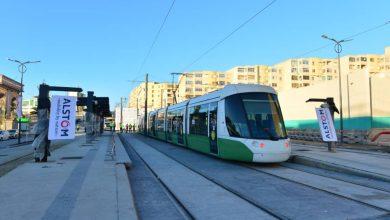 Photo de Alstom Algérie: Phase finale des essais dynamiques sur le tronçon de l'extension du tramway de Constantine