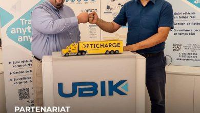 Photo de Partenariat Opticharge/UBIK Systems: Plus de visibilité en transport de marchandises